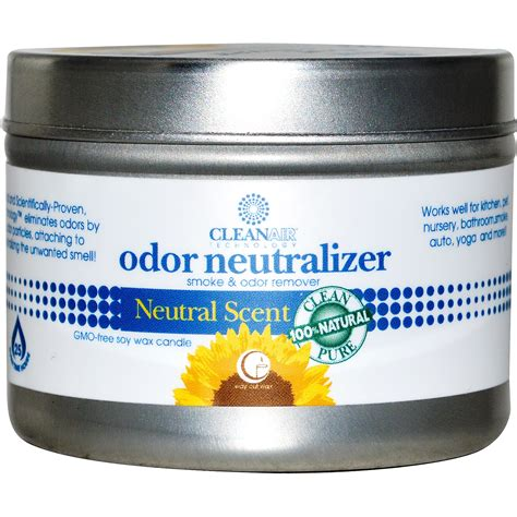 odor neutralizing way out wax odor neutralizer candle scent 3 oz