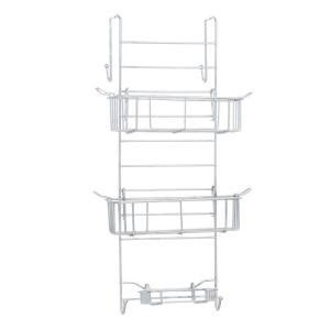 glacier bay the tub or shower caddy in chrome