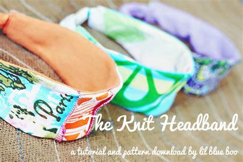 knit headband diy headband archives hackshaw lil blue boo