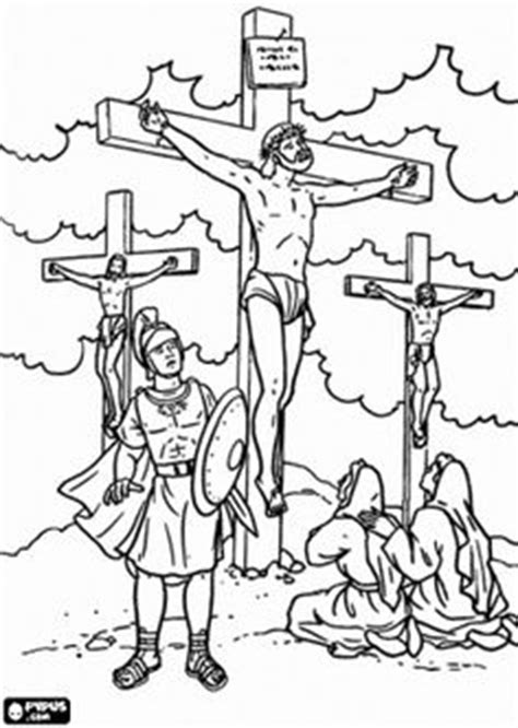 coloring pages jesus crucified 1000 images about sunday school on bible