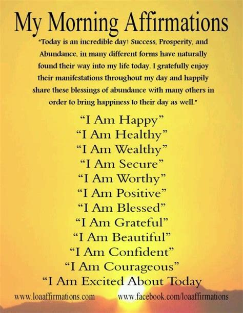 Its All About Affirmation by Morning Affirmations Affirmations And Mornings On