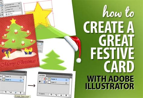 how to make ai you card how to create a great festive card with adobe illustrator