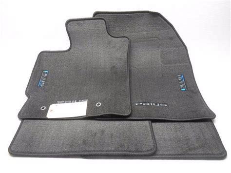 2011 Prius Floor Mats oem 2011 toyota prius carpeted 4 floor mat set black
