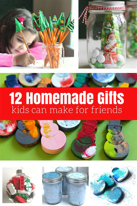 12 homemade gifts kids can help make for friends and
