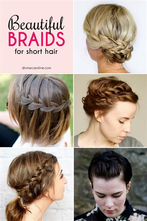 cute hairstyles braids short hair easy hairstyles braids short hair hairstyles ideas