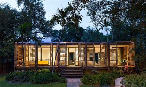 home design modern tropical single floor home design creates a tropical paradise in miami