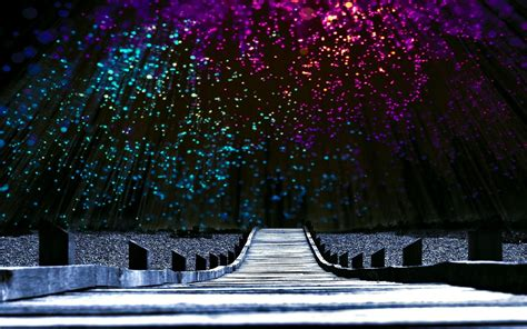 fotografia scenic ponte sky night horizon papel de parede