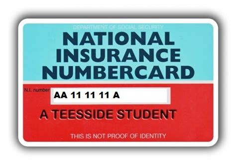 National Insurance Category Letters National Insurance Number Ni Work In The Uk