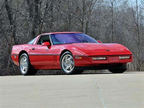 1990 corvette specs 1990 chevrolet corvette c4 coupe pictures information