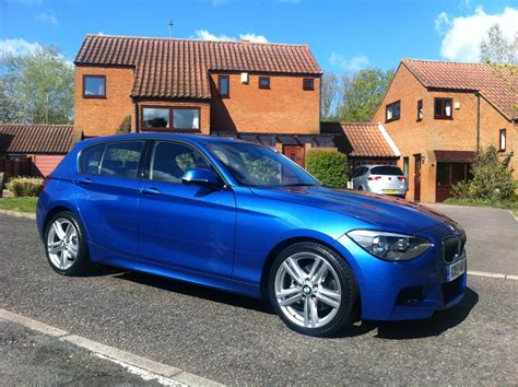 Bmw 1 Series Estoril Blue M Sport by Pics Of My New Estoril Blue 120d M Sport
