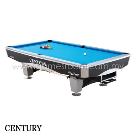 Century Silver 9ft Pool Cm1 9ft Century Silver American Pool Table