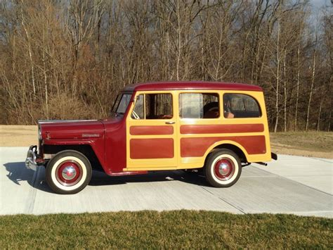 jeep station wagon 1947 jeep willys overland 463 l 134 woody na prodej