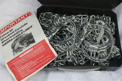 laclede snap lock cable chain purchase laclede cable link radial tire chains