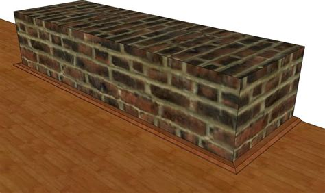 installing laminate floor around brick fireplace