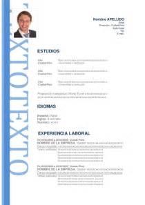 Modelo De Curriculum Vitae Formal   Modelo De Curriculum Vitae