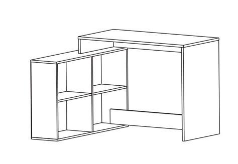 scrivanie angolo scrivania da angolo 1119x1007x767h mm