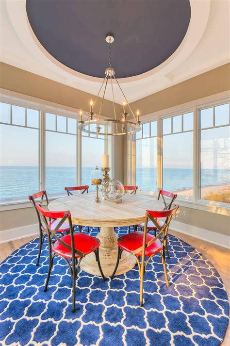 shingle beachfront home  casual coastal interiors