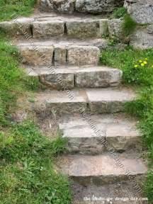 Rock Garden Steps Steps Outside