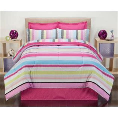 pink striped comforter colormate pink carousel stripe bedding set