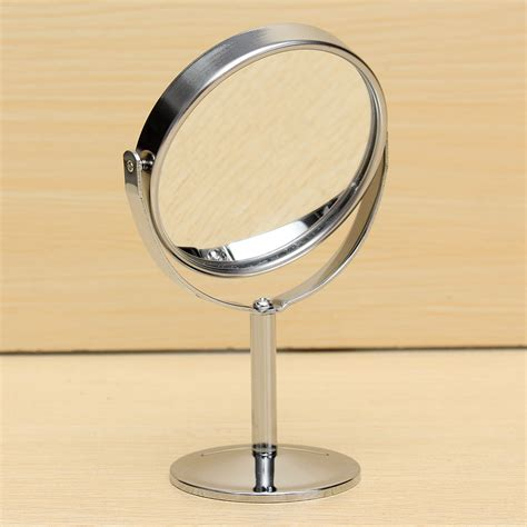 desk mirror with stand new desk stand beauty cosmetic makeup mirror double sided