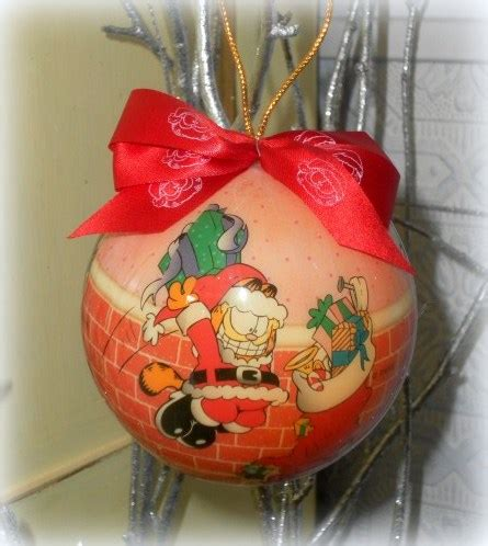 1996 garfield collectible christmas tree ornaments