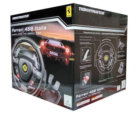 volante xbox360 volante para xbox 360 e pc thrustmaster 458 italia