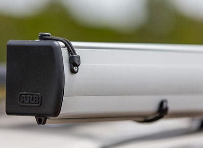 markise 2 50m breit arb touring markise in hartschale aus aluminium 2 50m