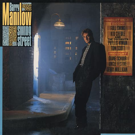 swing street barry manilow swing street vinyl album covers com