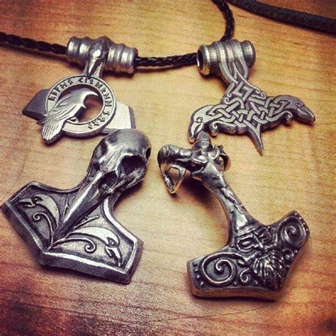 by solstafirtpr amulets vikings norse pinterest thors hammer