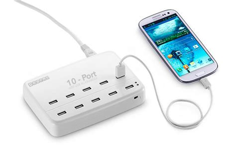 Charging Station 12 Port 24a usb charging stations charging today s technology gearmo