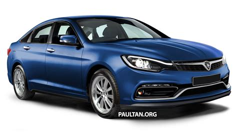 Proton Perdana by Rendered 2016 Proton Perdana In Eight Colours Image 392682