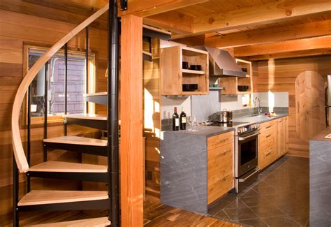houseboat a seattle floating home renovation rustic
