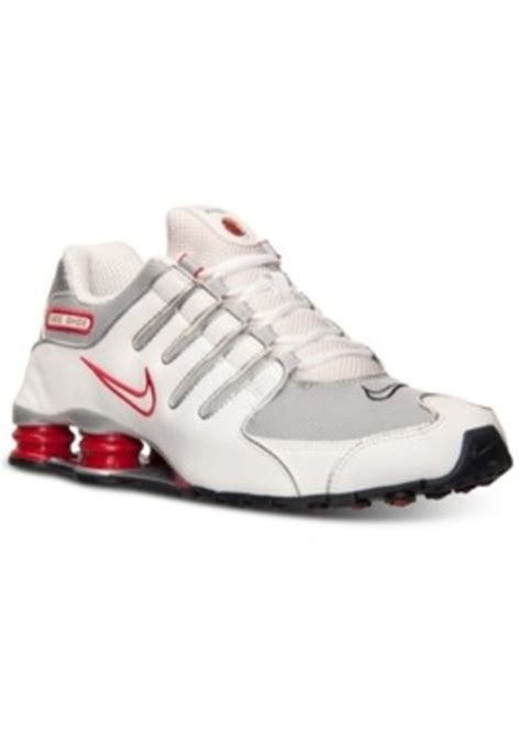 finish line running shoes sale nike nike s shox nz running sneakers from finish line
