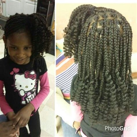 box braids vs individuals kiddie individual box braids with rodded ends uniquely