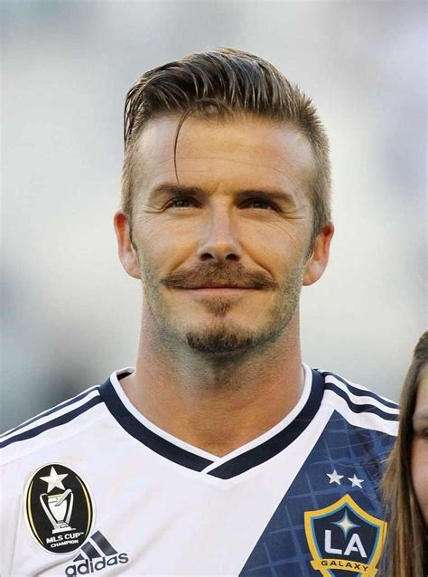 david beckham mini biography slicked back undercut with a musketeer beard they will