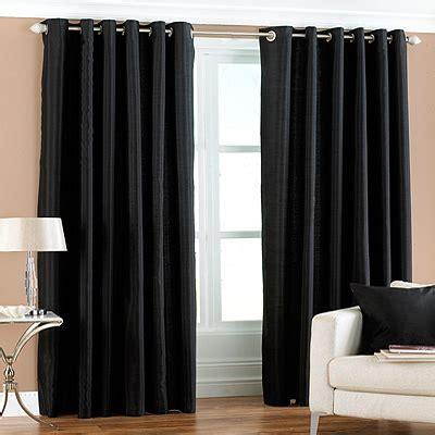 modern black curtains contemporary black eyelet curtains vogue interiors