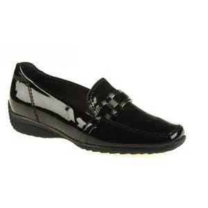 loafer shoes 62362 06 black patent loafer shoe from