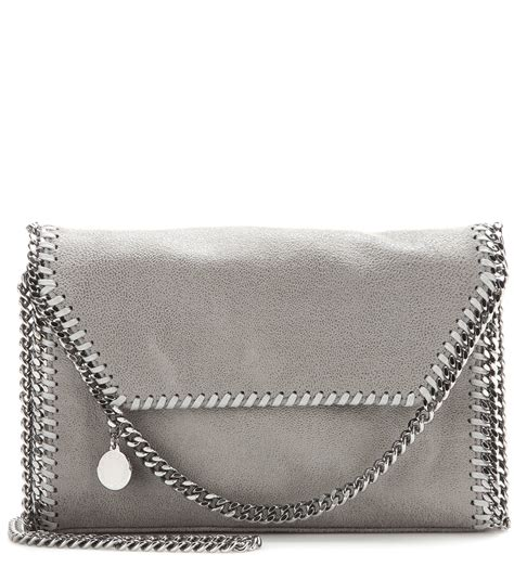 Stelan Grey lyst stella mccartney falabella shaggy deer shoulder bag