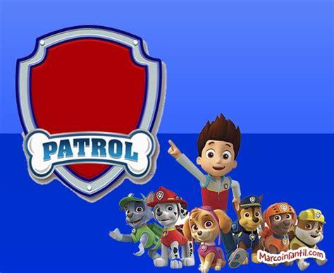 fotomontajes gratis de la patrulla canina marcos de paw patrol marcos infantiles