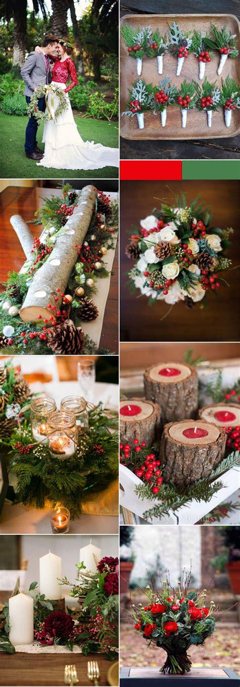 lucky colors christmas decor cozy festive wedding ideas for winter brides elegantweddinginvites