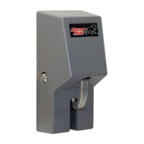 mighty mule automatic cable gate lock fm245 the home depot