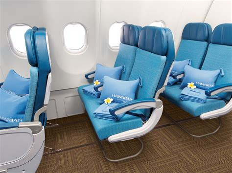 extra seating hawaiian airlines announce extra comfort economy seating