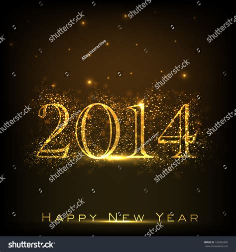 new year advertisement 2014 happy new year 2014 celebration flyer stock vector