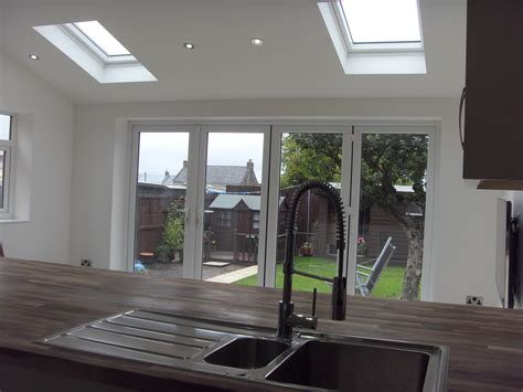 single storey rear extension  kitchen durham city