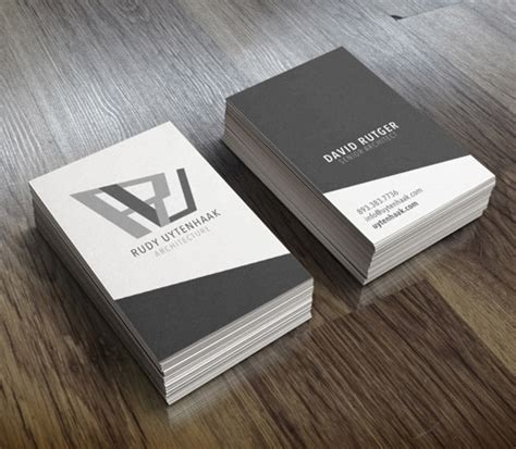 architecture business card 33 slick business card designs for architects