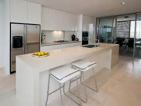 Modern Island Kitchen Designs Modern Island Kitchen Design Using Slate Kitchen Photo