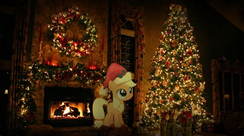 big christmas tree in house wallpaper 168477