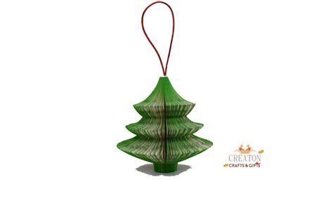 hanging christmas tree book art christmas tree ornament hanging christmas tree