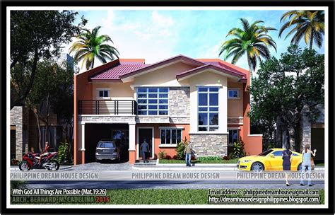 2 storey house design philippines two storey house design with terrace in philippines
