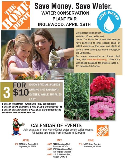 home depot plant sale inglewood south bay